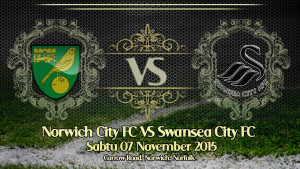 Prediksi Bola Norwich City vs Swansea City 7 November 2015