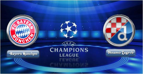 Prediksi Bola Dinamo Zagreb VS Bayern München 10 Desember 2015