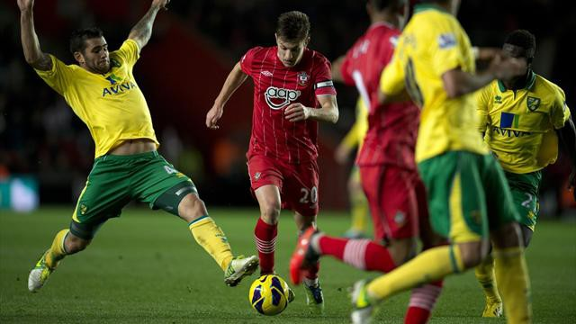 Prediksi Bola Norwich City vs Southampton 2 Januari 2016