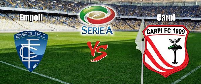 Prediksi Bola Empoli vs Carpi 13 Desember 2015