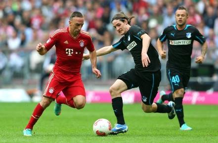 Prediksi Bola Bayern Munchen vs Hoffenheim 31 Januari 2016