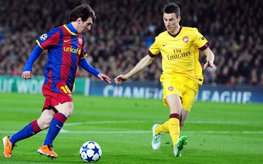 Prediksi Bola Arsenal vs Barcelona 24 Februari 2016