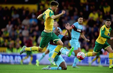 Prediksi Bola Norwich City vs West Ham United 13 Februari 2016