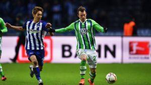 Prediksi Hertha Berlin vs Wolfsburg 22 April 2017